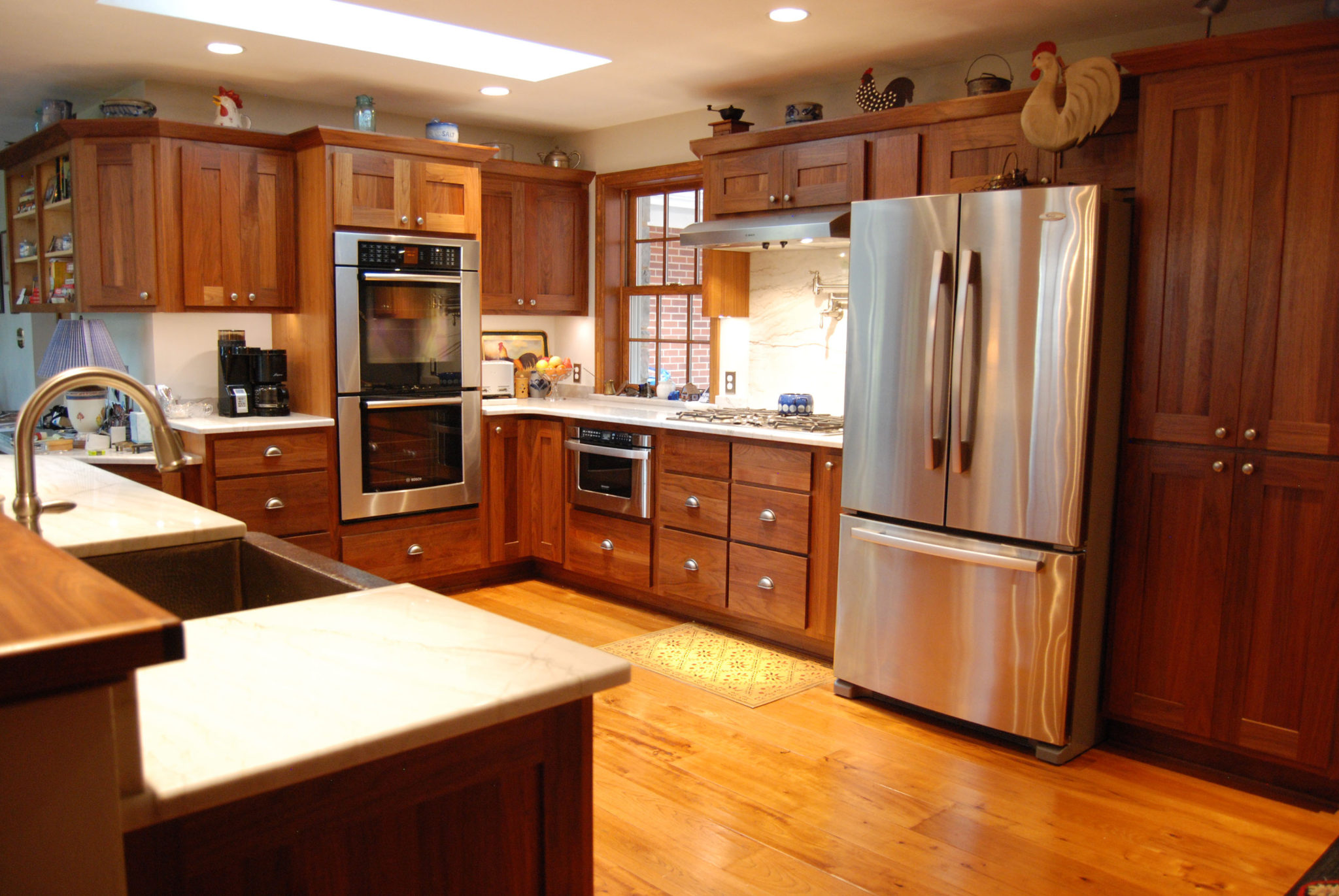Walnut Kitchen Custom Walnut Kitchen State College Pa